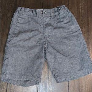 Volcom gray cargo shorts